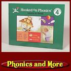 HOOKED ON PHONICS 1998 NOW Level 4 Green Workbook Writing on a few pages