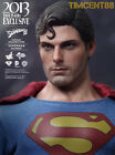 Ready Hot Toys MMS207 Superman Evil Version 1978 Christopher Reeve 1 6 Figure