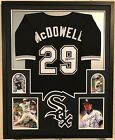 FRAMED JACK MCDOWELL AUTOGRAPHED SIGNED CHICAGO WHITE SOX JERSEY JSA COA