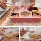 New Microwave Bento Lunch Box + Spoon Utensils Picnic Food Container Storage L