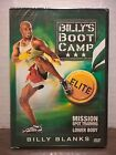 Billys BootCamp ELITE Mission Spot Training Lower Body Billy Blanks DVD NEW