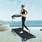 Electric Treadmill Exercise Equipment Folding Machine Motor Fitness Wide 400MM