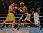 Floyd Mayweather Autographed 16x20 vs Pacquiao Photo- Beckett Auth