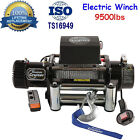 NEW 65HP 5KW Trailer Classic 9500LBS Electric Winch 12V Jeep Trailer Truck USA