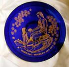 Vintage LE 1971 Mors Dag Mother's Day Plate Orrefors Sweden 8