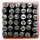 Vector Number and Capital Letter Punch Set 36 Pc (6mm 1/4'): 09098