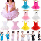 Kids Girl Ballet Tutu Princess Dance Dress Baby Leotard Unitard Party Dancewear