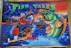 FISH TALES PINBALL~NEW REPRODUCTION TRANSLITE~PPS PURCHASE~Better Than Original!