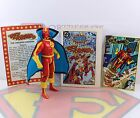 1985 Kenner DC Super Powers Action Figure Red Tornado CapeComicCards MINTY