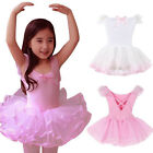Kid Girl Ballet Tutu Princess Dance Dress Leotard Ballerina Dancewear Swan Dress
