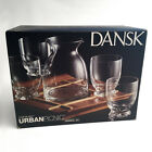 Dansk Dansk Cafe Blanc Urban Picnic Drink Bar Set w/Bamboo Tray Discontuned