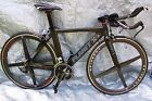 Planet X Stealth Pro Carbon Shimano Ultegra 6800 Time Trial / triathlon Bike