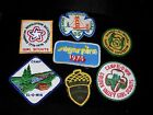 Lot of Vintage Collectible Sew On Cloth Patches San Francisco Girl Scouts