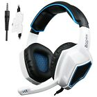 3.5mm Wired Over-Ear Stereo Gaming Headphones + Microphone PC IOS Computer