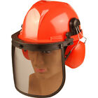 ALM Chainsaw Safety Helmet Mesh Visor & Ear Defenders