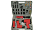 32 PIECE AIR TOOL KIT WRENCH RATCHET GRINDER AIR HAMMER CHISEL SOCKETS SPANNERS