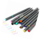 Fineliner Color Pen Set Drawing Porous Fine Point Markers Coloring Book Arts New