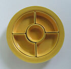 Fiesta Fiestaware Vintage Yellow Relish Tray Complete All Marked Pieces HLC