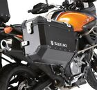 Suzuki Black Aluminum Luggage Side Case VStrom 650XT ABS 12-16 990D0-ALSCE-NAR