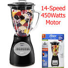 Oster 14 Speed Professional Electric Blender Smoothie Shaker Maker Kitchen Mixer