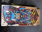 williams f-14 tom cat tomcat pinball machine playfield NICE