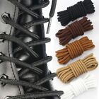 1Pair Long Round Shoe Laces Shoelaces Leather Boot Brogues Bootlaces Strings
