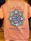 New SIMPLY SOUTHERN LET YOUR HEART BE YOUR COMPASS SHIRT
