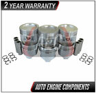 Piston Set Fits Chevrolet Suzuki Tracker Grand-Vitara 2.5 L H25A - SIZE 030