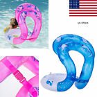 Hot PVC Childs Adult Swim Ring Float Inflatable Tube Pool Swimming Aid Vest US