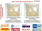 Clear Empty Gelatin Capsule Size 0 Herb Pharmacy Hard Shelled Organic Tab Pet