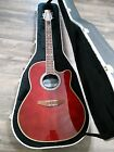 Ovation Celebrity CC057 Acoustic/Electric Guitar with case.