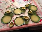 Tamac Pottery 6 bbq cups and 5 14.5