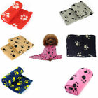 S Cute Lovely Puppy Cat Mat Pad Bed Cover Christmas Gift Soft Pet Dog Blanket