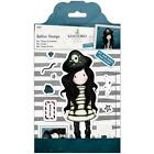 Santoro Gorjuss Rubber Stamp Set Piracy Postal Collection Pirate Girl