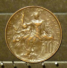 1917 France 10 Centimes Coin     F17