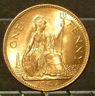 1945 Great Britain Large Penny  Coin     F58
