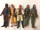 Planet of the Apes 5 Figures 8 1974 Mego Excellent Condition