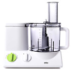 Braun 12 Cup Food Processor Ultra Quiet Powerful motor, includes 7 Attachment