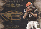 2014 Topps Inception Gold Signings #ISSJA Johnny Manziel RC Auto # 25