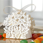 50 Pack Laser Cut Butterfly Wedding Favor Box Birthday Shower Party Candy Boxes