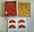 Teaching Textbooks Math 4 Set CD ROM Student Workbook Answer Booklet