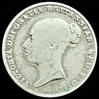 1858 Great Britain 6 Pence .925 Silver Coin Queen Victoria KM# 733