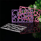 Metal Cutting Dies Stencil Scrapbooking Embossing Album Card Craft Circle Shape