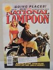 NATIONAL LAMPOON MAGAZINE AUGUST 1991 GOING PLACES