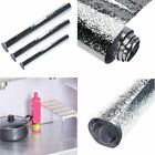 Thick Waterproof Anti oil Aluminum Foil Self adhesive Stickers Wall Paper Tool