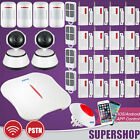 KERUI W1 WiFi PSTN Wireless Home Security Alarm Burglar System + WIFI IP Camera
