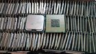 Lot of 150 Intel Core 2 Duo and Pentium 4 Computer CPU For Scrap Gold Recovery !