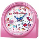 SEIKO CLOCK Alarm clock ello Kitty Talking Alarm Analog Pink CQ134P