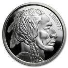 Native American Indian - Buffalo 1 oz Silver Ultra High Relief Pre-Sale US Round