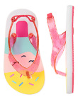 Gymboree Ice Cream Popsicle Flip Flops Sandals Baby Toddler Girl Size 5 6 NEW